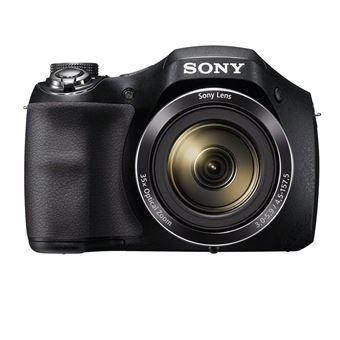 Sony Cyber-shot DSC-H300 - Digitale camera - compact - 20.1 MP - 720p - 35x optische zoom - zwart