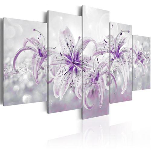 Artgeist - Tableau - Purple Graces 100x50