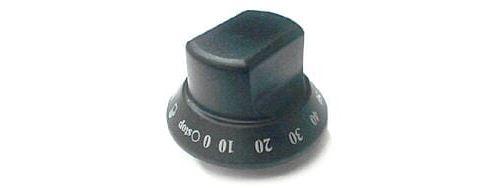 Bouton noir de minuterie pour Cuisiniere Ikea
