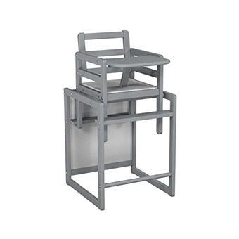 Ateliers T4 Chaise Haute Bois Transformable Et Moderne Anthracite