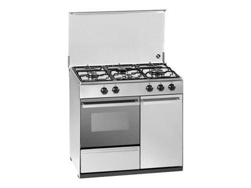 TRIOMPH TMB2940X - Cuisinière - pose libre - largeur : 88 cm - profondeur : 51.5 cm - hauteur : 82.5 cm - acier inoxydable