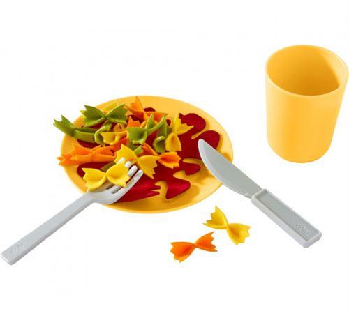 Haba vaisselle Service de déjeuner Pastapan junior 12 cm jaune