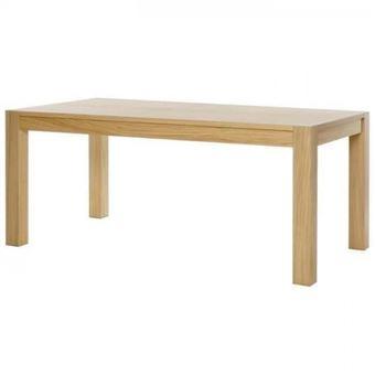 c7b0684d0fdab0 CADIZ Table a manger de 8 a 10 personnes style contemporain placage chene  huile - L 180 x l 90 cm - Achat   prix   fnac