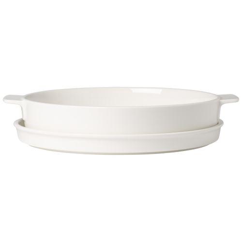 Villeroy & Boch - Clever Cooking plat à four rond avec couvercle, 28 cm