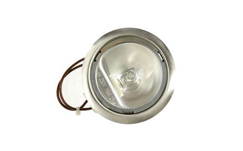Lampe Halogene Inox 230v -25w HOTPOINT Ref: C00298223
