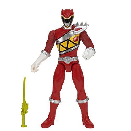 Power Rangers Dino Charge - Figurine d'action Red Ranger avec 10 sons de bataille