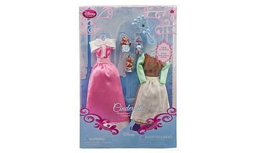Disney Princess Cinderella Doll Wardrobe and Friends Set - 6-Pc.