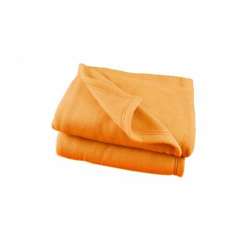 Couverture Polaire Orange Polex 100% polyester 350g 180x220
