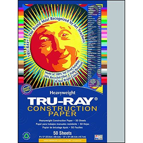 PAC103027 - Papier de construction Pacon Tru-Ray