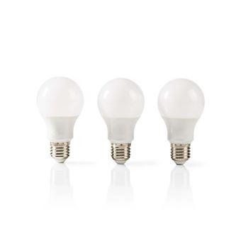 Paquet Ledbe27a603p1 Lm Lampe Led A60 W Nedis 5 7 De 470 E27 3 eodCBrWx