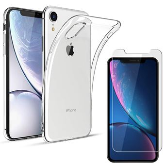 coque verre trempe iphone xr