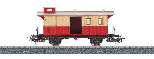 Marklin Start up H0 voiture à bagages rouge/beige (4108)