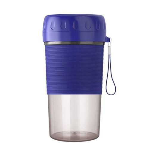 Coupe de jus Mini Portable USB Célibataire Rechargeable-bleu