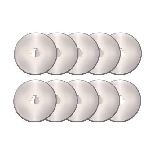 10pcs 45mm Rotary Cutter Recharge Lames DIY Patchwork À Coudre Quilting Rotation Circulaire Coupe FA346