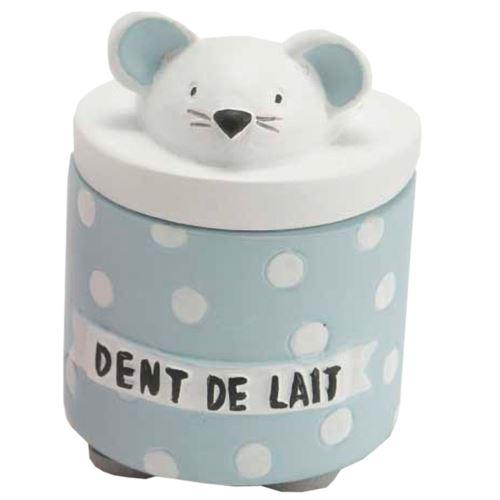 Petite boite à dents de lait Bleue