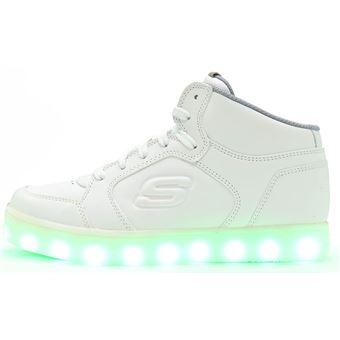 De Energy Hi Blanc Top Lights In Skechers Chaussures Enfant Sport Y4wTTq