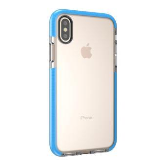 coque iphone x apple bleu