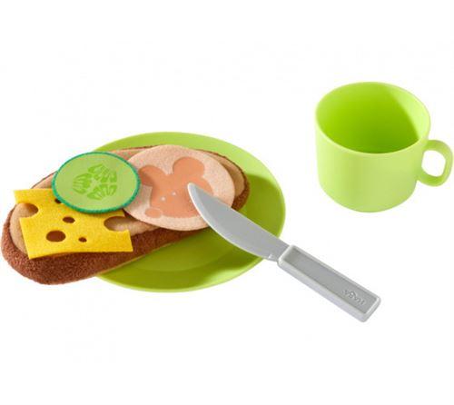 Haba vaisselle Service de petit déjeuner Début de la journée junior 12 cm vert