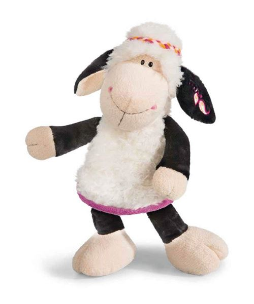 NICI 41306 Jolly Mäh Yoga Doudou Mouton Malou, 25 cm