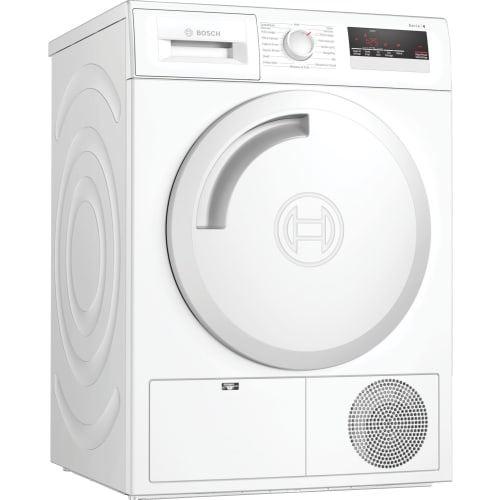 Bosch Serie | 4 WTN83208FF - Sèche-linge - indépendant - largeur : 59.8 cm - profondeur : 65.2 cm - hauteur : 84.2 cm - chargement frontal - blanc