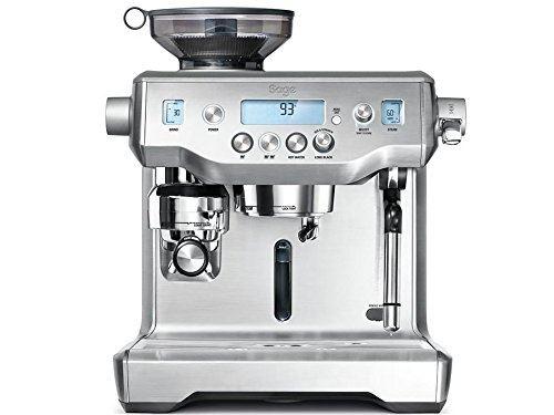 Dis appliances machine expresso, acier inoxydable brossé