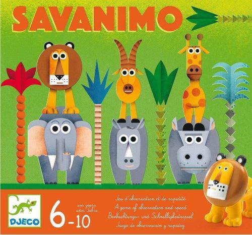 Djeco Jeux d'action et reflejosjuegos educativosdjecojuego savanimo Multicolore (15)