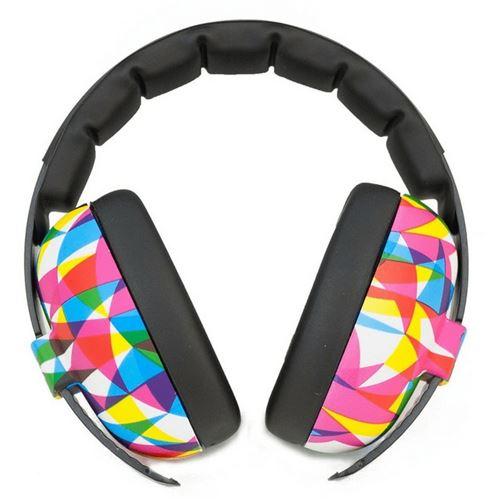 Casque Anti-Bruit pour Enfant Banz Earmuffs, Multicolore