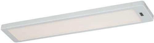 Dualux Neptune Réglette LED Barre de lumière LED avec détecteur de mouvement, Très Clair et plat, idéal comme lampe de cuisine, lampe de travail ou de placard Éclairage blanc 30 cm [Classe énergétique A++]