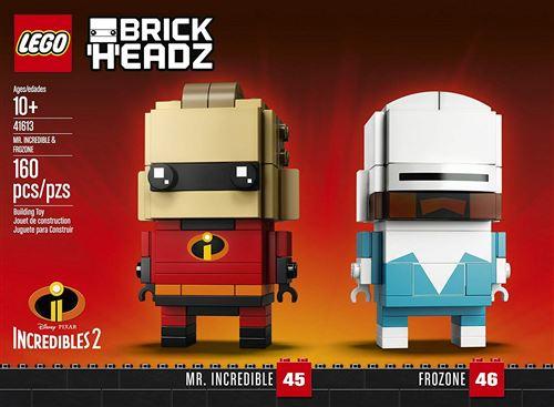 Lego Brickheadz 41613 Mr. Incredible et Frozone