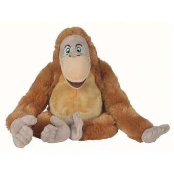 Peluche Disney 33 Cm Le Roi Louis Singe Livre De La Jungle