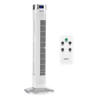 Colonne Rafraichissante 35€ sur oneconcept hightower 2g ventilateur colonne sur pied 50w