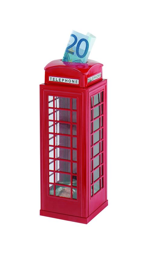 Goki Metal Box Red Phone Booth