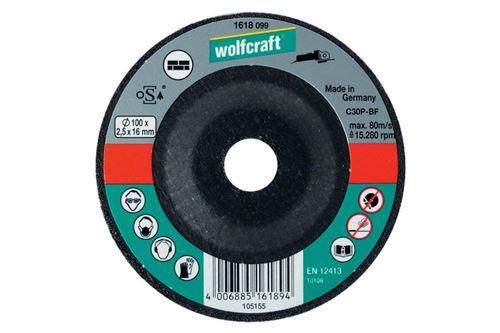 Wolfcraft 1629099 Disque tronçonneuse Diamètre 230 x 2,5 mm