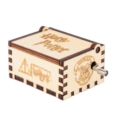 Boîte à musique en bois - Harry Potter
