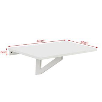 Sobuy Fwt03 W Table Murale Rabattable En Bois Table De Cuisine