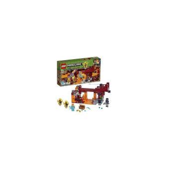 LEGO® Minecraft™ 21154 Le pont de Blaze