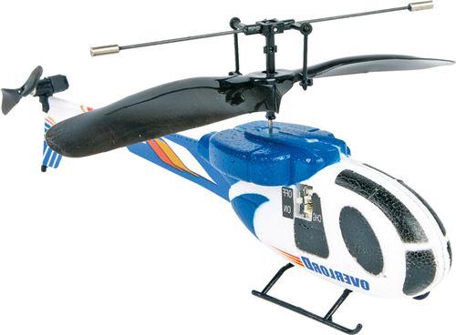 Hélicoptère «Infrarouge», Bleu