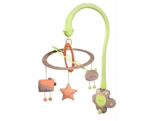Mobile d'éveil starlight vert amande - babymoov