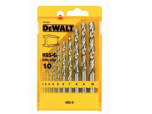 DeWalt DT5921QZ Coffret de forets métal Extreme Lot de 10 (Import Grande Bretagne)