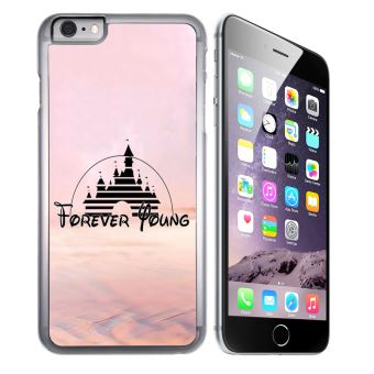 Coque pour iPhone 6 et iPhone 6S disney forver young illustration
