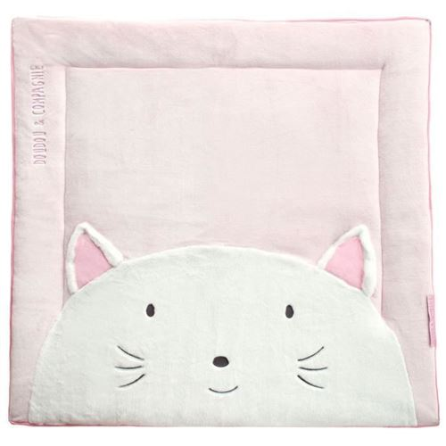 Tapidou Doudou et Compagnie Chat Rose