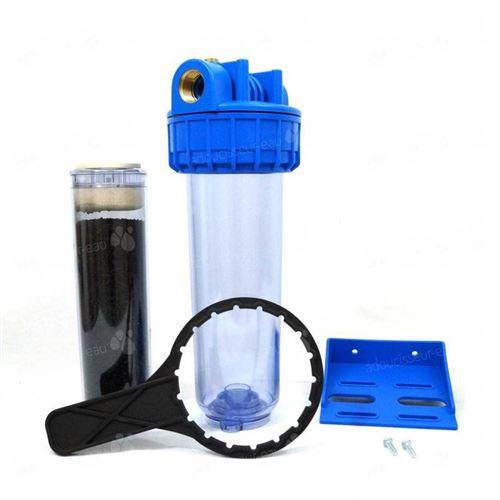 Porte filtre à eau 93/4 - 20/27F + filtre charbon actif