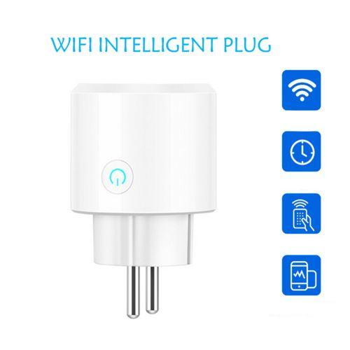 Smart WiFi Prise d'alimentation EU Plug Commutateur pour Amazon Alexa / Accueil Google App contrôle