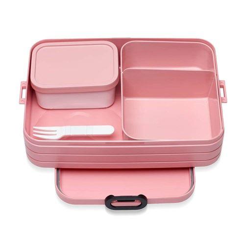 MEPAL – Bento Lunch Box Take a Break Large Nordic Pink