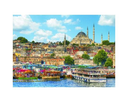Puzzle 1000 Pièces : Istanbul, Gold Puzzle