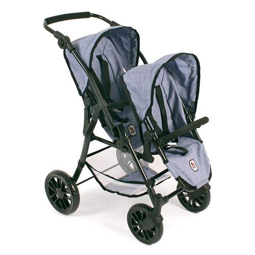 Bayer Chic 2000 691 50 Le buggy Twinny pour poupées - Coloris 50
