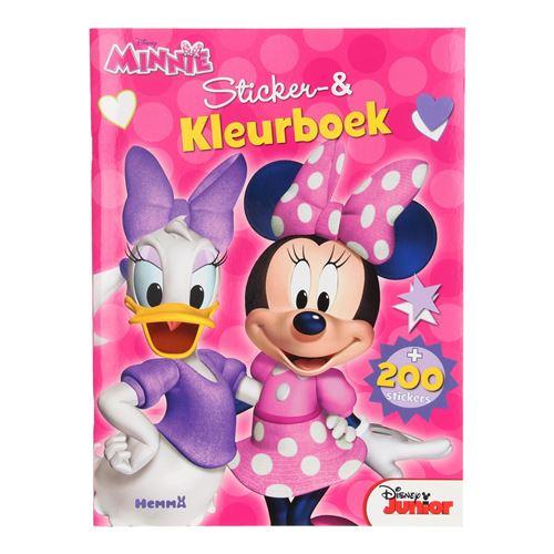 Autocollant Minnie Mouse et cahier de coloriage