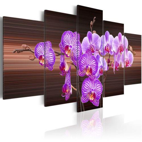 Tableau - Flower of joy .Taille : 100x50
