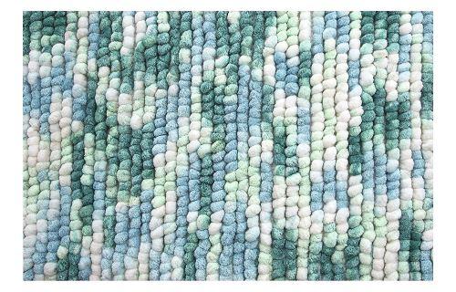Spirella 1018615 Kito Ocean Tapis de bain 55 x 65 cm Tapis de bain en polyester microfibre/coton, 65 x 55 x 17,5 cm