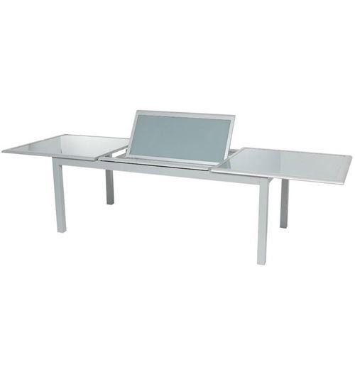 Table Verre Silver Mat Personnes Hespéride Extensible 10 Azua kOZPXiuT